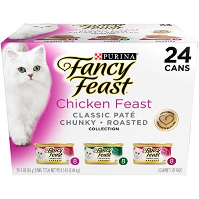 Purina Fancy Feast Classic Pate Collection Feast Adult Canned...