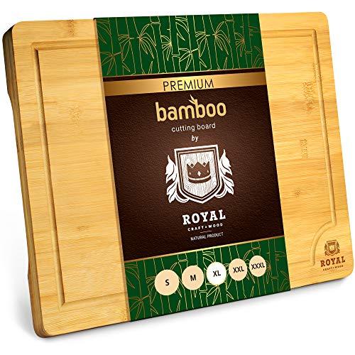 Large Organic Bamboo Cutting Board