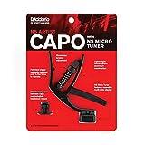 D'Addario NS Artist Capo with NS Micro Headstock Tuner