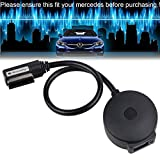 Drimfly MMI Bluetooth Adapter Car Kit for Mercedes-Benz with Media Interface (Code 518) and NTG 4.5,Enjoy Hi-Fi Music - Supports AptX