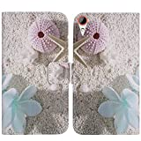 TienJueShi Sea Star Fashion Style Book Stand Flip PU Leather Magnet TPU Silicone Protector Phone Case for HTC Desire 830 5.5 inch Cover Etui Wallet