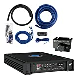Planet Audio AC3000.1D 3000W Monoblock Class D Car Amplifier + 1/0 Gauge Amp Kit