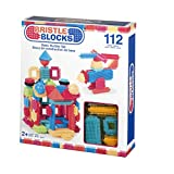 Bristle Blocks by Battat - The Official Bristle Blocks - 112Piece - Creativity Building Toys Dexterity Fine Motricity - Bpa Free 2 Years +