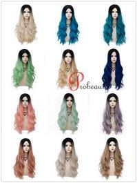 Probeauty-Bombshell-Collection-Lolita-Ombre-Dark-Root-Long-Wavy-Women-Cosplay-Wigs