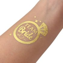 Konsait-14-Bride-Tribe-Tatouages-temporaires-de-bridemaid-avec-2-tatouages-demarie-pour-Enterrement-De-Vie-De-Jeune-Fille-Decorations