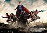 MightyPrint Justice League Movie (United We Stand) Wall Art DC Comics Premium Print