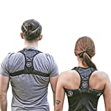 Morf Industries Posture Corrector for Women and Men for Thoracic Kyphosis – Durable, Padded, and Breathable Upper Back Brace for Clavicle Support, Providing Pain Relief From Neck, Back & Shoulder