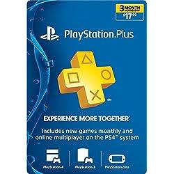 3-Month Playstation Plus Membership - PS3/ PS4/ PS Vita [Digital Code]