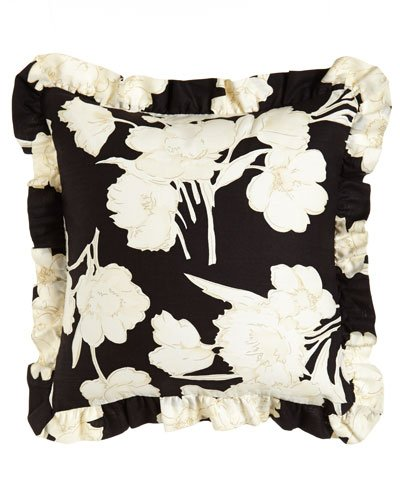 Ralph Lauren Seville Floral Square Throw Pillow, 18 Inch