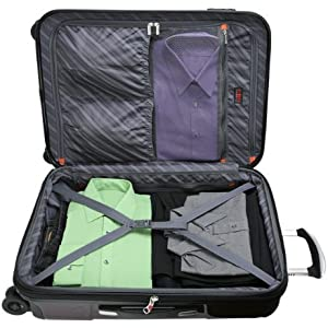 Organized packing features