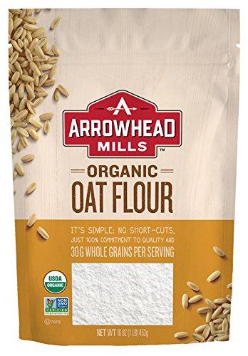 Arrowhead Mills Organic Oat Flour, 16 Ounce (Pack of 6)
