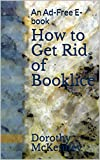 How to Get Rid of Booklice: An Ad-Free E-book