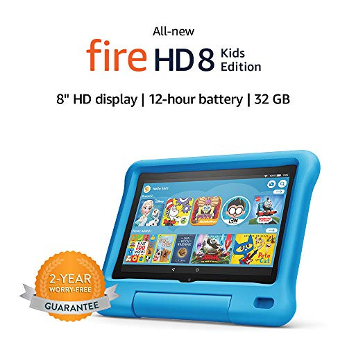 All-new-Fire-HD-8-Kids-Edition-tablet-8-HD-display-32-GB-Blue-Kid-Proof-Case
