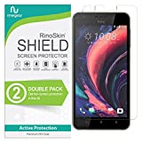 (2-Pack) RinoGear HTC 10 Desire Lifestyle Screen Protector Case Friendly Screen Protector for HTC 10 Desire Lifestyle Accessory Full Coverage Clear Film
