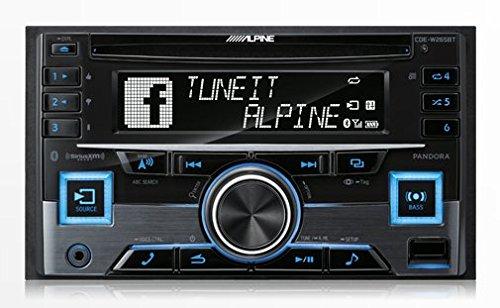 Alpine CDE-W265BT Double DIN Bluetooth In-Dash CD/AM/FM Receiver w/ App Direct Mode