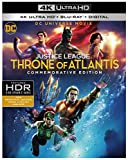 DCU Justice League: Throne of Atlantis Commemorative Edition (4K /Blu-ray/Digital)