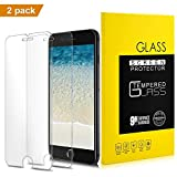 iPhone 8, 7 Screen Protector, [2 Pack] Premium Tempered Glass with Accurate 3D Touch and anti-Fingerprint for Apple iPhone 8, iPhone 7, iPhone 6S, iPhone 6 [4.7inch]