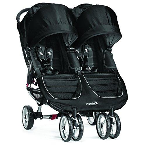 Baby Jogger 2016 City Mini Double Stroller - Black/Gray