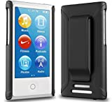 iPod Nano 7 Case - ONYX Ultra Slim Fit (Black) Shell Case Belt Clip Holster Cover for Apple iPod Nano 7 (7th Generation)