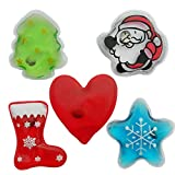 Reusable Hand Warmers Click, Hand Warmers Boil Click Heat Pocket Hand Warmer, Pouch Gel Hand Warmers Cute Long Lasting Warmth For Camping, Outdoor, Gift for Kids, Woman, Man, Boys, Girls Set 5