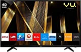 VU 100 cm (40 Inches) Full HD Smart LED TV 40 PL (Black) (2019 Model)