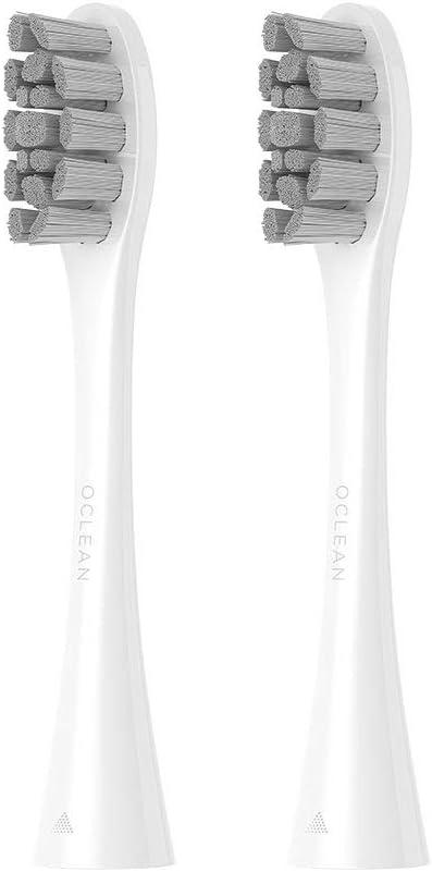 2PCS Oclean Têtes de Brosse de Rechange pour Brosse à Dents Électrique Sonic pour Oclean X/One