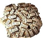 "Lisa's Creations, Inc - 50 Herb Sampler Kit - with Charcoal, White Sage Wand, and Handmade 3"" x 3"" Muslin Bag"