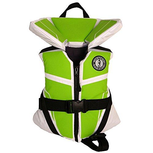 Mustang Survival Lil' Legends 100 Flotation Vest, White/Apple, Infant