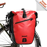 Rhinowalk Bike Bag Waterproof Bike Pannier Bag 27L,(for Bicycle Cargo Rack Saddle Bag Shoulder Bag Laptop Pannier Rack Bicycle Bag Professional Cycling Accessories)