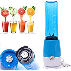 Blender Fruit Mixer Juicer Smoothie Maker Ice Crushe Mini Multifunction Portable