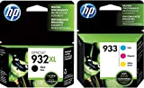 HP 932/933 Combo Pack Ink Cartridge - Black, Cyan, Magenta, Yellow