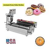 Zinnor Automatic Donut Making Machine,Automatic Donut Maker/Auto Donuts Frying Machine/Auto Molding,Auto Frying,Auto Turning,Auto Collecting (US Warehouse)