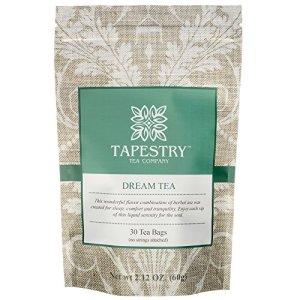 Tapestry Tea Dream Tea Chamomile Herbal Tea 30 Count Natural Sleep / Relaxation Blend