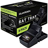 Guarden Best Rat Traps That Work - Effective No Poison Rodent Killer Mouse Trap Pest Control for Gophers, Voles, Mice, and Rats ...