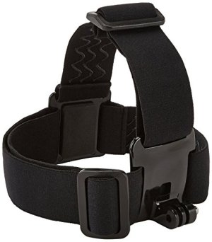 AmazonBasics GoPro Head Strap Mount (Black)