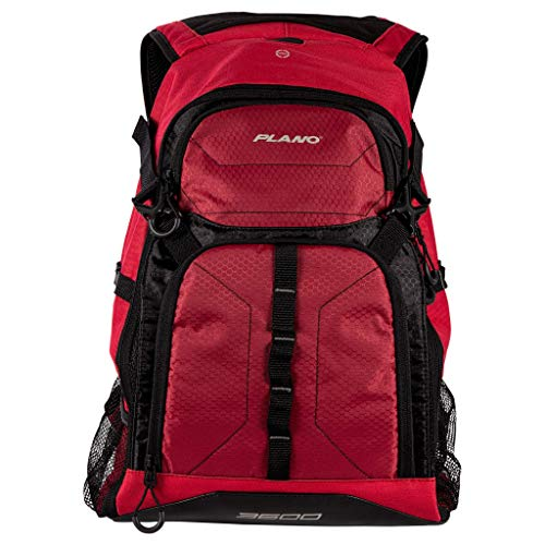 Plano E-Series 3600 Tackle Backpack, Includes Three 3600 Tackle Storage...
