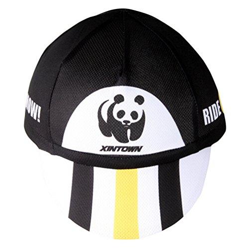 Xinzechen Cycling Cap Sweat Wicking Fits Under Helmets Panda