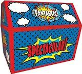 Teacher Created Resources - Baúl de superhéroe, 9-1/2 x 8 x 8-1/2 pulgadas