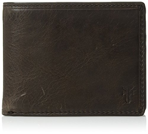 51r3bAI7IVL Frye antique pull up slim leather billfold wallet Features slots for cards and 1 full length bill compartment