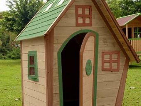 hexenhaus für garten kinderspielhaus / hexenhaus - lavender -: amazon.de: garten
