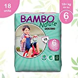 Bambo Nature Baby Training Pants Classic, Off-White, Size 6, 90 Count