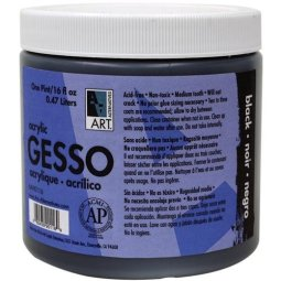 Art Alternatives Black Acrylic Gesso