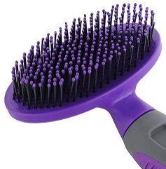 Hertzko-Soft-Pet-Brush-for-Dogs-and-Cats-with-Long-or-Short-Hair--Great-for-Detangling-and-Removing-Loose-Undercoat-or-Shed-Fur--Ideal-for-Everyday-Brushing-for-Sensitive-Skin