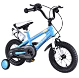 Awesome Outdoors Best Children's Bicycle, With Removable Training Wheels for Safe Riding And Learning Experience (20inch - Age 4-8yrs BLUE)