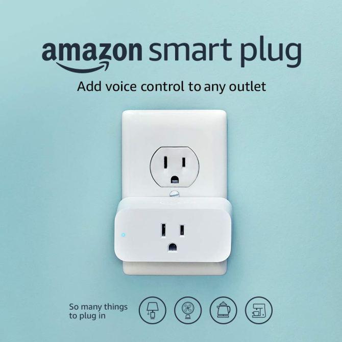 Amazon Smart Plug, Compatible with Alexa: Amazon.in: Electronics