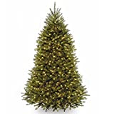 National Tree 7.5 Foot Dunhill Fir Tree with 600 Clear Lights (DUH3-75LO-S16)
