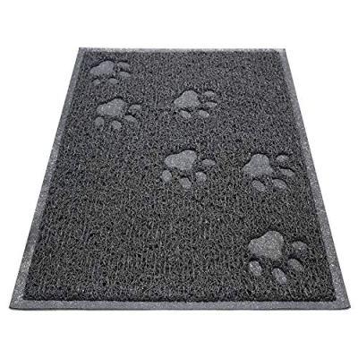 """Asobeage Premium Cat Litter Mat(30""""X24"""") Litter Trapping..."""