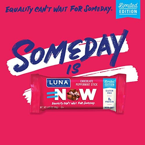LUNA BAR - Gluten Free Bars - Chocolate Peppermint Stick - (1.69 Ounce Snack Bars, 15 Count)(Packaging May Vary) 6