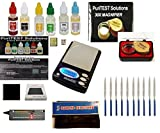 PuriTEST Electronc Diamond and Precious Metals Test Kit-Culti Diamond Selector, Purity Test Acids, DigiWeigh Jewelry Scale and Much More!