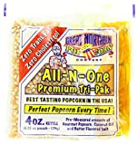 Great Northern Popcorn 4 Ounce All Natural Popcorn Portion Packs Case of 24